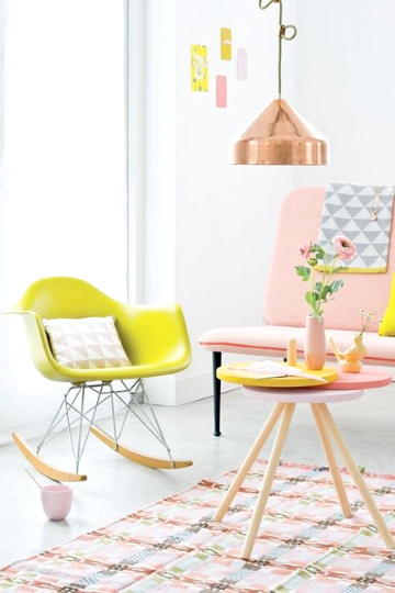 pastel furniture